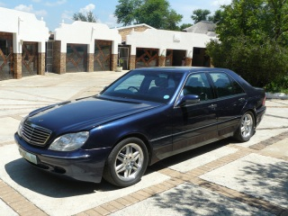 Rent an armour plated Mercedes-Benz S420